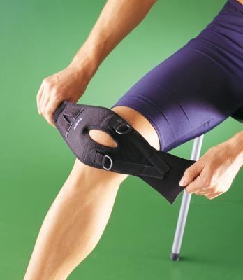 stabilizator kolanowy czarny