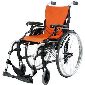 wózek inwalidzki aluminiowy lekki